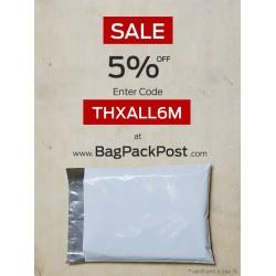 5% OFF ฉลอง BagPackPost เปิดบริการอย่างเป็นทางการมากว่า 6 เดือน