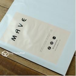 พิมพ์ลายบนซองไปรษณีย์พลาสติก BagPackPost (mave)
