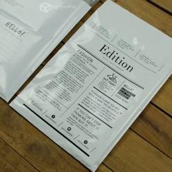พิมพ์ลายบนซองไปรษณีย์พลาสติก BagPackPost (Edition)