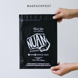 พิมพ์ซอง สกรีนซองไปรษณีย์สีดำ BagPackPost (Nuannaree)