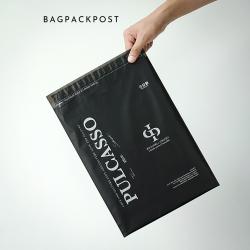 พิมพ์ซอง สกรีนซองไปรษณีย์สีดำ BagPackPost (Pulcasso)