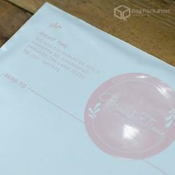 พิมพ์ลายบนซองไปรษณีย์พลาสติก BagPackPost (Breast Time)