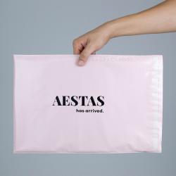 พิมพ์ซอง สกรีนซองไปรษณีย์สีดำ BagPackPost ลาย Aestas