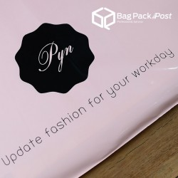 พิมพ์ลายบนซองไปรษณีย์พลาสติก BagPackPost (PYN)