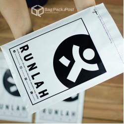 พิมพ์ลายบนซองไปรษณีย์พลาสติก BagPackPost (runlah)