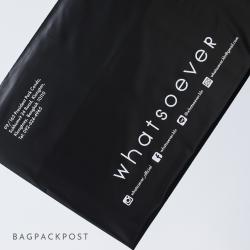 พิมพ์ซอง สกรีนซองไปรษณีย์สีดำ BagPackPost (Whatsoever)