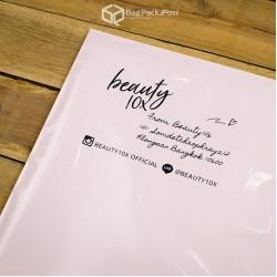 พิมพ์ลาย สกรีนลายซองไปรษณีย์ BagPackPost สีชมพู (beauty10x)