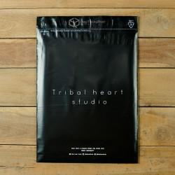 พิมพ์ซอง สกรีนซองไปรษณีย์พลาสติก BagPackPost (tribal heart)