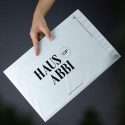 พิมพ์ซอง สกรีนซองไปรษณีย์ BagPackPost ลาย HausOfAbbi