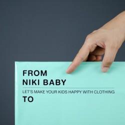 พิมพ์ซอง สกรีนซองไปรษณีย์สีชมพู BagPackPost ลาย Niki Baby