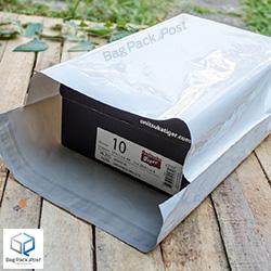 ตัวอย่างการใช้ ซองไปรษณีย์พลาสติก W3